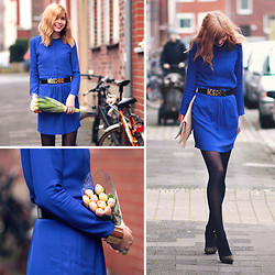 Jana Wind - Sita Murt Dress - Royal blue