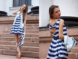Mary Zhukovskaya -  - Little striped dress