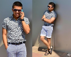 Joamar-John Canosa - Chan Ya Top, Sm Belt, Chatuchak Shorts, Chatuchak Sandals, Chatuchak Sunnies, Cotton On Watch - UNENDING CALL.