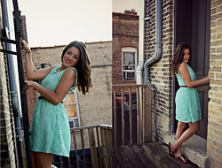 Amanda Warda - Francesca's Mint Green Dress - Her Dress Whispers Reckless