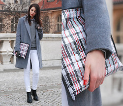 Jana P. - Diy Coat, Diy Clutch - Never say never