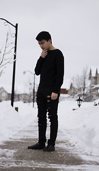 Martin Yu - Zara Sweater, Zara Jeans, Zara Shoes - Our voice makes us invincible