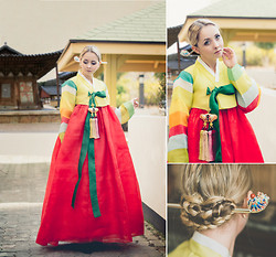 Olga Choi - Hanbok Korean Traditional Dress - Happy LUNAR New Year!