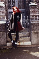 Eugenia V. Tenenbaum - Sheinside Coat., Oasap Skirt., Oasap Creepers. - 72. LEAVE SOME MORPHINE AT MY DOOR.