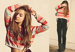 Cveti Dimitrova - H&M Aztec Print Sweater - Bondax - Giving It All
