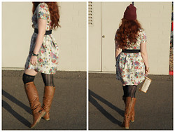 Verity Dae - Forever 21 Floral Dress - Day Dreams and Dissapointments