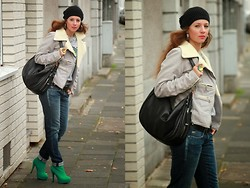 Rimanere Nella Memoria - Tchibo Hat, Replay Jacket, Tchibo Bag, Miss Sixty Jeans, Ebay High Boots - Loose and Casual