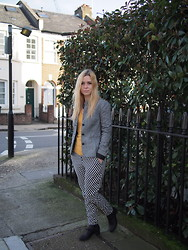 Alina A - Urban Outfitters Blazer, New Look Trousers - Smarten Up