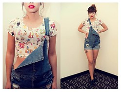 Mimi Palafox - O Mighty Weekend Om, Forever 21 Overalls - *Nineties*