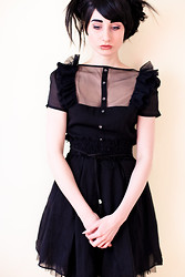 Mel Grotesque - Romwe Dress - Lolita