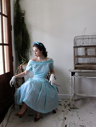Piper Arielle - Vintage Formal Dress - Waiting for a love that never came