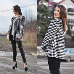 Patrycja Gubała - Ccc Boots - Love black and white!