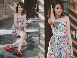 Tricia Gosingtian - Just G Dress, Chestbox Heels - 020914