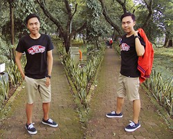 Chandra Pramana Putra - Vans Off The Wall T Shirt, Cotton, Vans Shoes, Baseball Jacket - LoVans