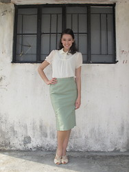 FFtoHK -  - MadMen Pencil Skirt