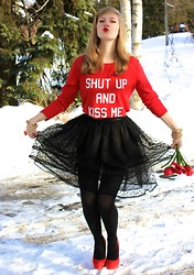 Sydney Hoffman - Steve Madden, Lia Sophia, American Apparel - SHUT UP AND KISS ME