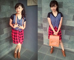 Shella Marselina -  - We wearing our ouftit with a bunch of love