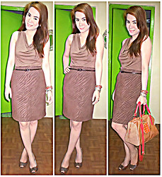 Lowella rinna B. - Pretty Soul Drapped Top, Sugarless Gal Pencil Cut Skirt - STYLizeD : Basic Essential 3: Pencil Cut Skirt