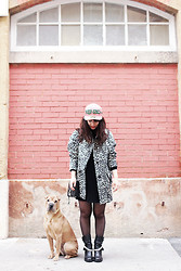 Thelittleworldoffashion Aude - Mango Coat, Kenzo Cap - The secret