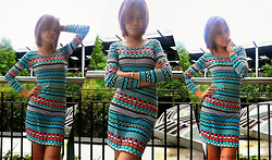 R.A. Basilan - The Closet Scribe Aztec Dress - Celebrating Life