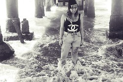 Cynthia † - Choies Vogue Beanie - I am the ocean, i am the sea, there's a world inside of me.