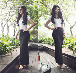 Liana Wibowo - Asos Maxi Skirt - Bali... On Bright Sunny Day