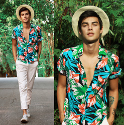 Vini Uehara - Nvisionstyle Shirt, Vesst Shoes - Let's take a walk around the block