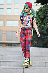 Aiiness .com - Tartan Pant, Wholesale Dress Leopard Neon Platform Boots - The Champion