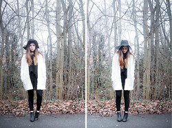 Rianna Bowles - H&M Hat, H&M Jacket, Topshop Trousers, Topshop Boots - Nineteen two