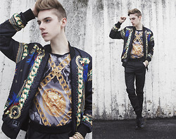 Mikko Puttonen - Blood Brother Shirt, Criminal Damage Jacket, Leather Pants, Shoes - Blood brother
