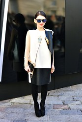 Magdalena W - Neco London Giulet And Dress - Sharp & Strong (LFW day 3 Look)