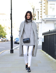 Hedvig ... - & Other Stories Knit, J. Crew Jeans, Tod'S Shoes, Ganni Coat, Chanel Bag - Above water