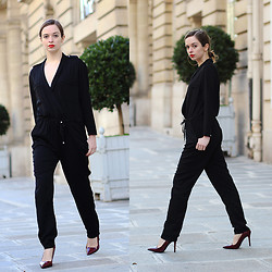 Sab FashionLab -  - BLACK JUMPSUIT
