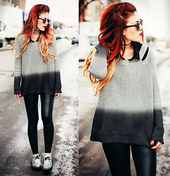 Lua P - Blu Boutique Jumper - Break the ice.