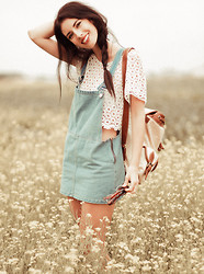 Elle-May Leckenby - Crochet Cropc, Denim Overall - Taking the scenic route