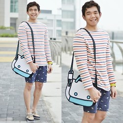 Lo Pascual ⚓ - Choies Bag, H&M Sweater, Iconic Shoes - It's Always Fun When You Are Around