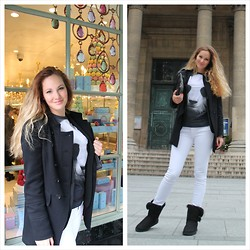 Lucia - Ugg Uggs, Levi's® Jeans, Mr. Gugu & Miss Go Panda Tee - Ohh Paris!