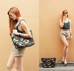Camille Co -  - Military Chic