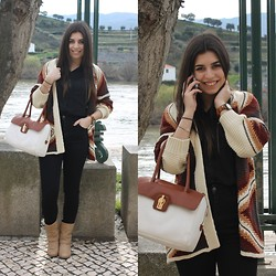 Marisa Silva - Pacco Martinez Bag, Pull & Bear Cardigan - Always wear your invisible crown
