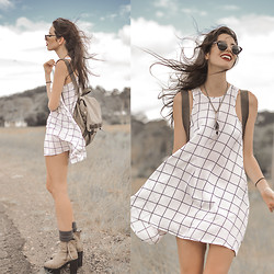 Elle-May Leckenby - Ottomode Sudoku Dress - The open road