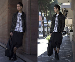 Scott Terral Downey Ѧ - Givenchy Vest, Lost & Found Pant, Jil Sander Bag - Reality