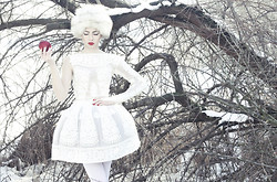 Nina Racic - Nina Rajak Dress - Bring me your heart, my dear, dear Snow White