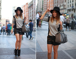 Barbara Crespo - Gucci Bag, C&A Total Look - Gran via #madrid