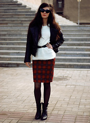Sonja Gje - Skirt, Shoes, Jumper - PinUpWoman