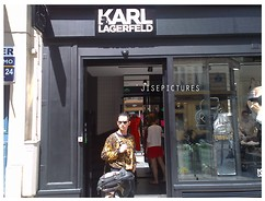 Jiseph Hakim -  - Karl is very iconic and eccentric in fashion