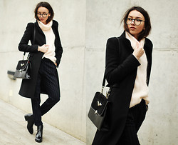 Bea G - Trousers, Sweater, Bag, Shoes, Coat - DISCLOSURE