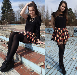 Patricia C. - O Mighty Weekend Home Alone Skirt, Killah Top - Home Alone Skirt