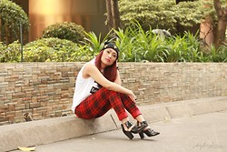 Jaq Perez - Mango Plaid Pants, Forever 21 Booties - Changing Battles