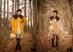 Tatjana Dmitrovic Drljan - Season Coat, Jelena I Svetlana Prokovic Jsp Dress, Mona Bag, Pieces Boots, Vintage Hat - Scared Of Lonely
