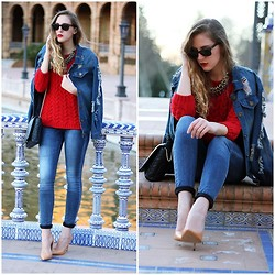Marta M - Zara, Sheinside, Zara - The denim jacket